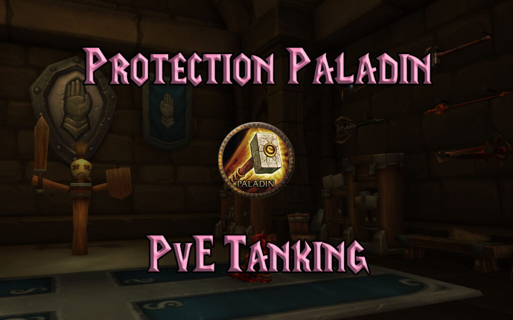 tbc classic pve protection paladin guide burning crusade classic