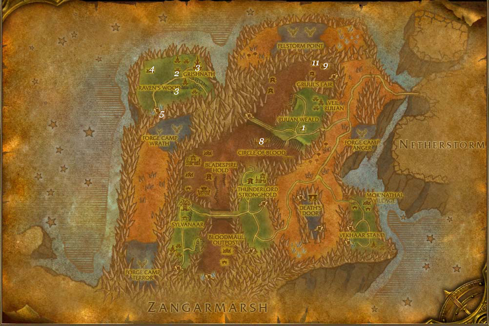 alliance leveing guide blades edge mountains part 6 steps 1 12