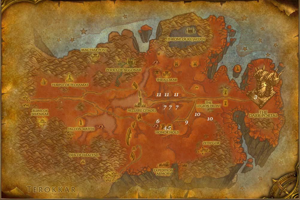 alliance leveing guide hellfire peninsula part 1 steps 1 13