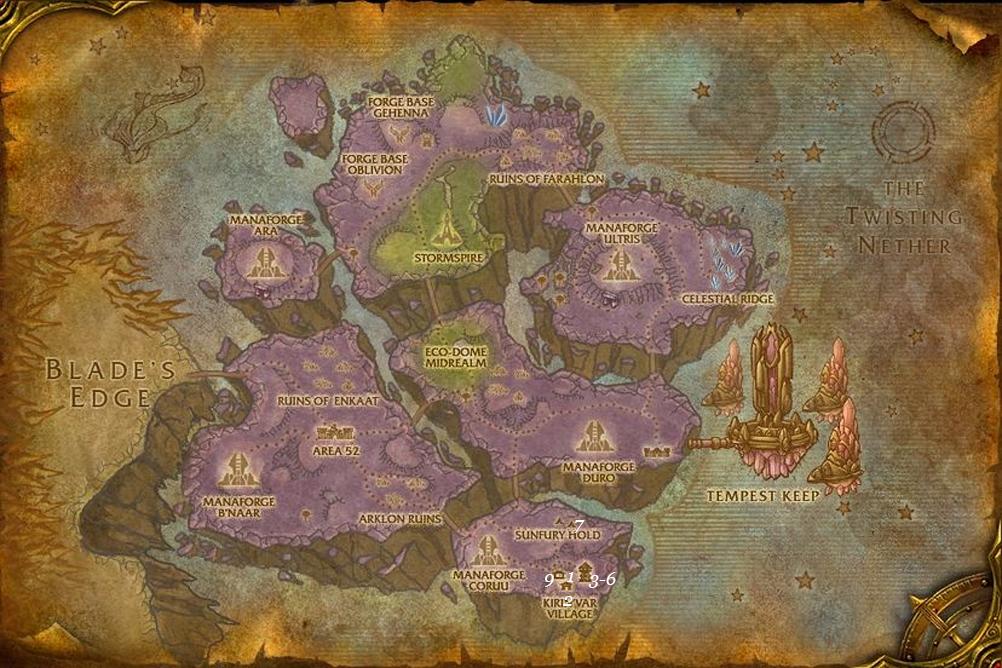 alliance leveing guide netherstorm part 3 steps 1 9