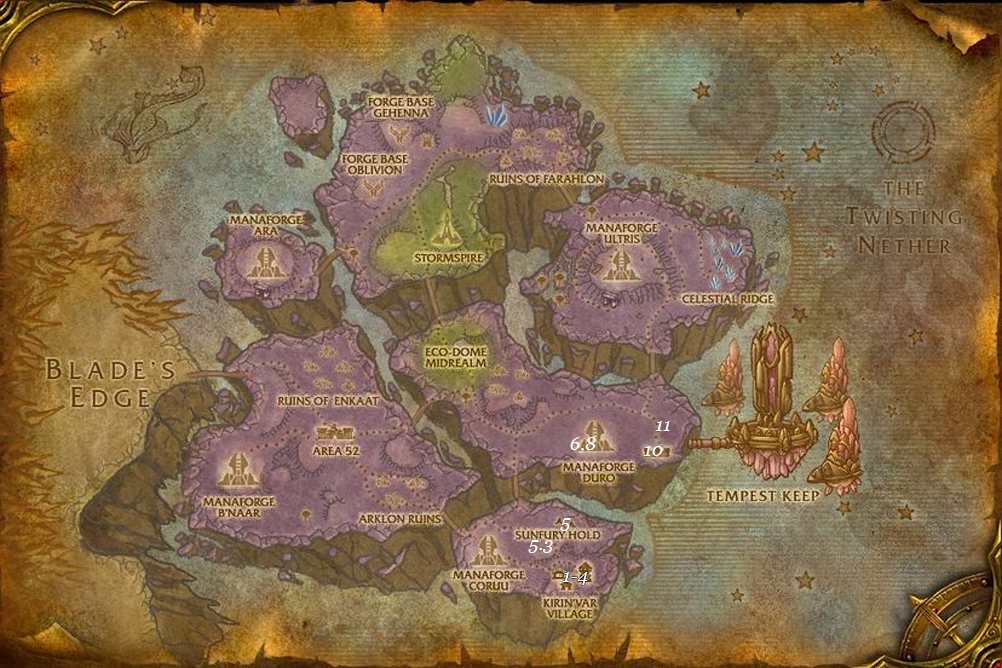 alliance leveing guide netherstorm part 5 steps 1 11