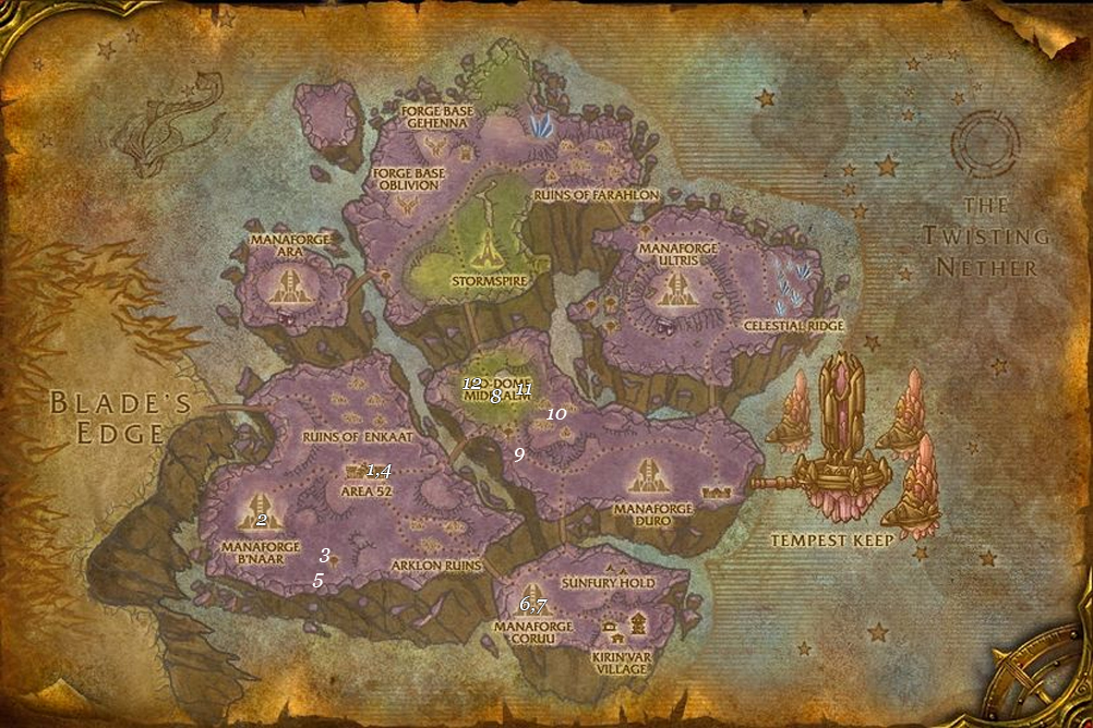 alliance leveing guide netherstorm part 6 steps 1 12 fixed