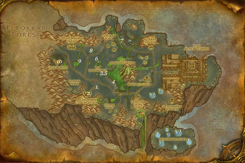 alliance leveing guide shadowmoon valley part 1 steps 1 10