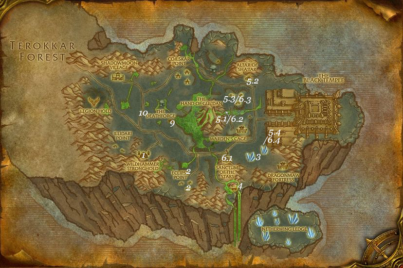 alliance leveing guide shadowmoon valley part 3 steps 1 10