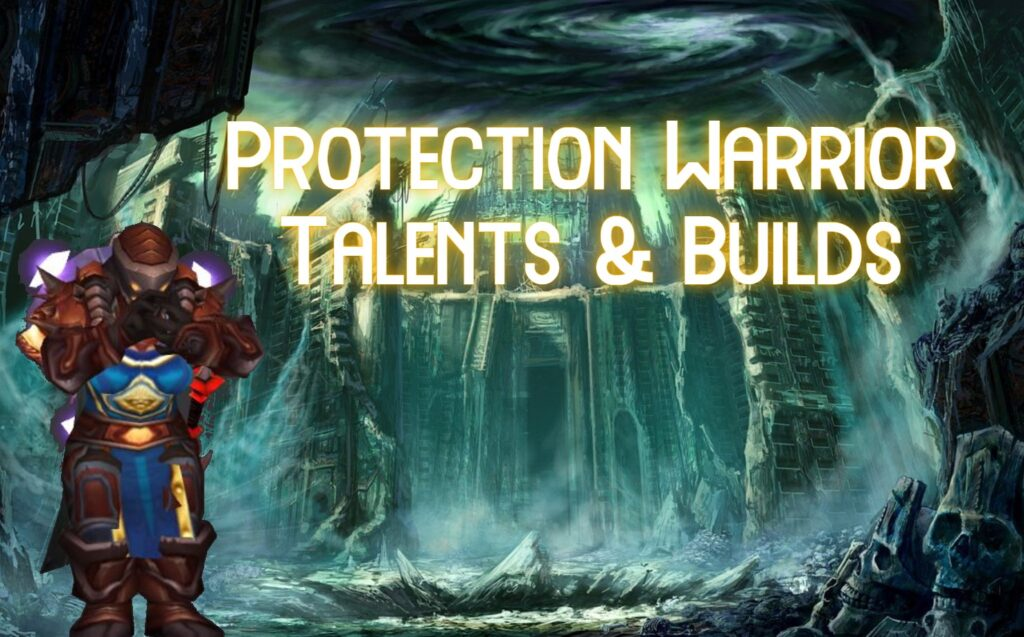 tbc classic pve protection warrior talents & builds
