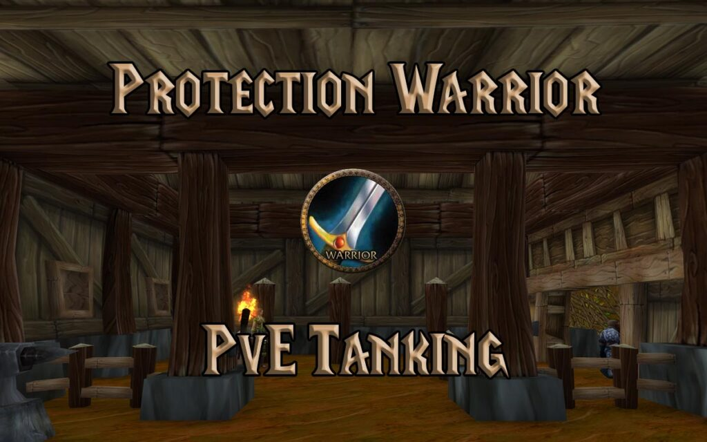tbc classic pve protection warrior tank guide burning crusade classic