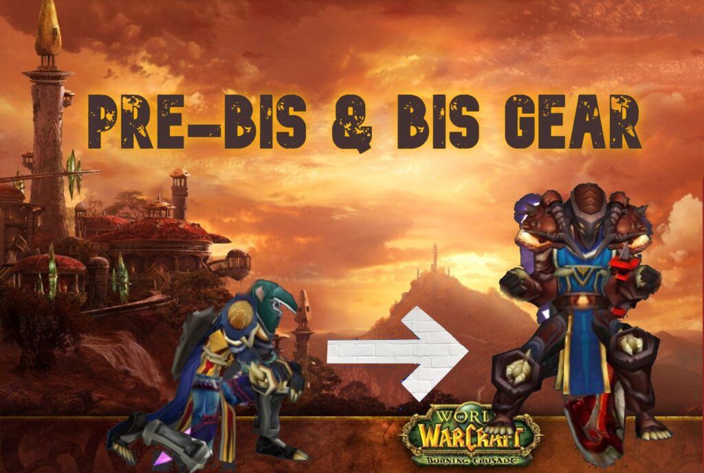 tbc classic protection warrior tank gear and bis