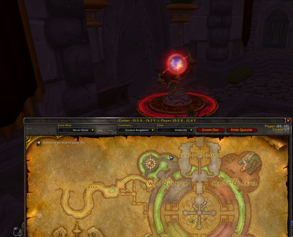tbc classic how to get to silvermoon city