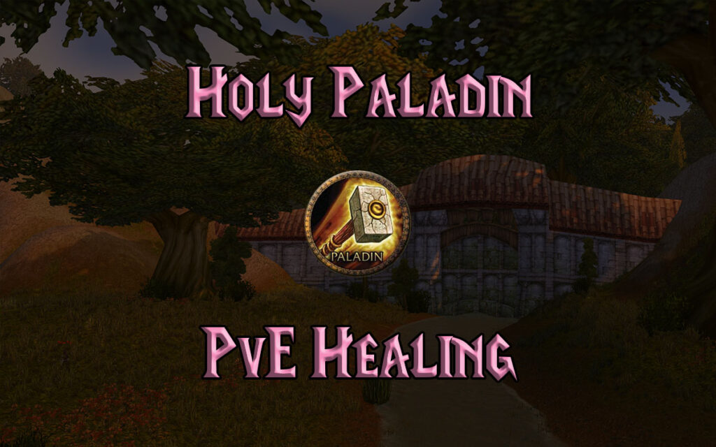 tbc classic pve holy paladin dps guide burning crusade classic