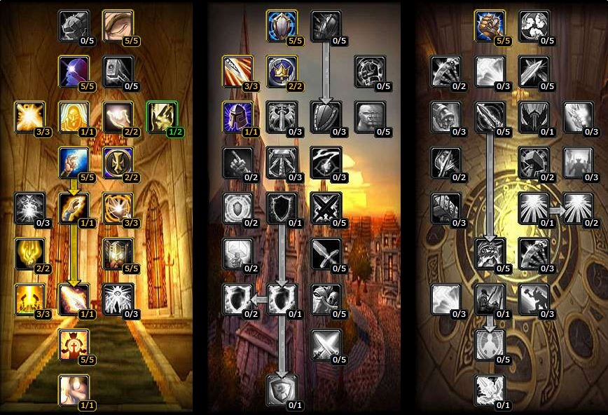 TBC Classic PvE Holy Paladin Talent