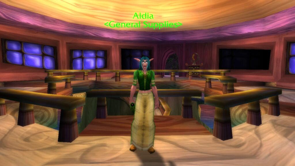 tbc classic vendor Aldia