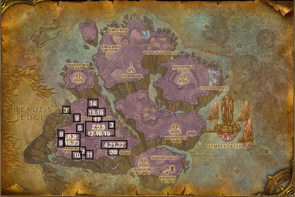 netherstorm quest map part 1