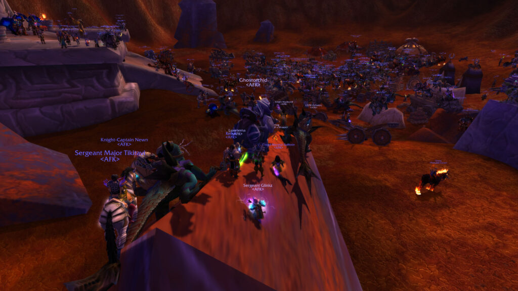 tbc is released without a hitch