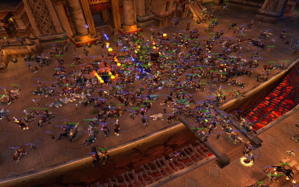 warcraft tavern highlighted as a tbc community resource
