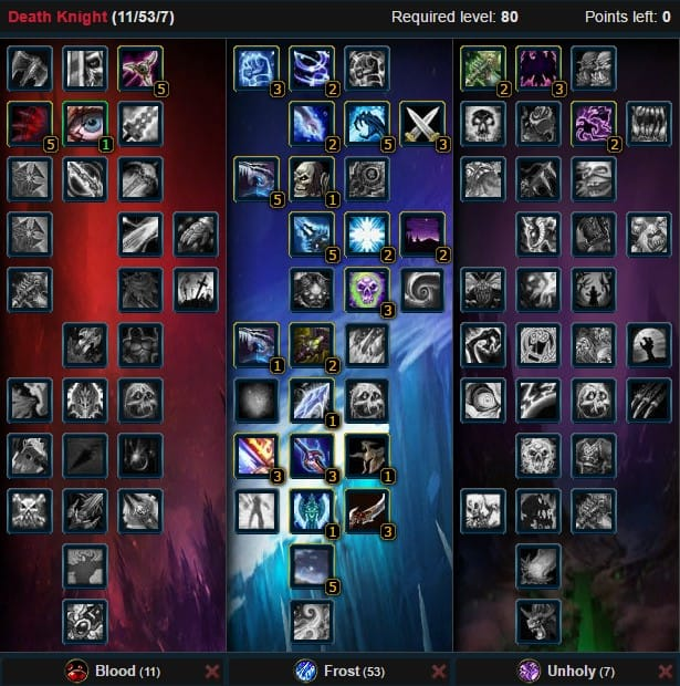 2frost Death Knight Pvp Wow.3.3.5a