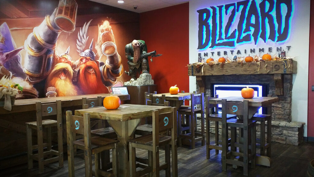 activision blizzard sued over discrimination against female employees