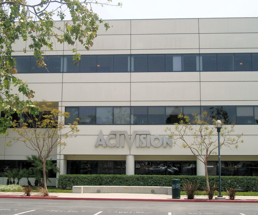 activision blizzard sued over discrimination sexual harassment of female employees