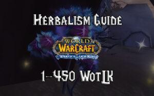 Herbalism Guide 1 450 WotLK 3.3.5a