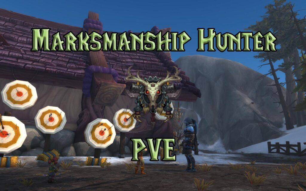 PVE Marksmanship Hunter DPS Guide WotLK 3.3.5a