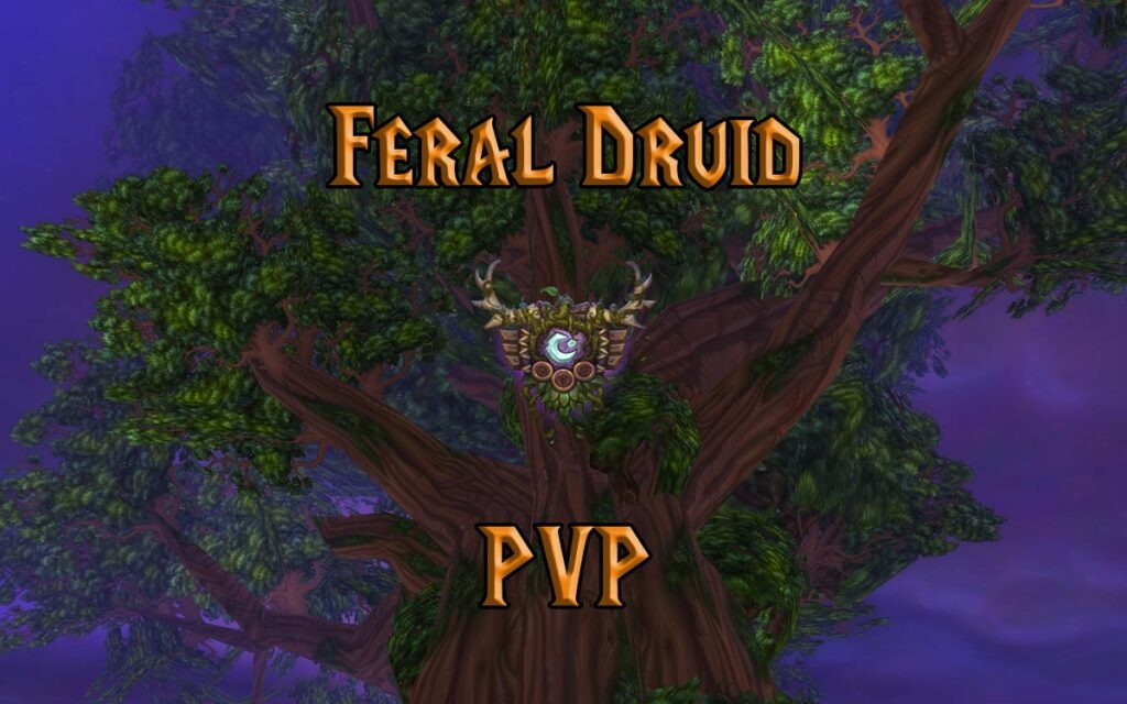 PVP Feral Druid Guide WotLK 3.3.5a
