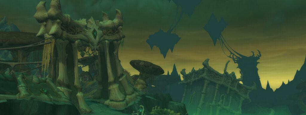 world of warcraft shadowlands plaguefall entrance