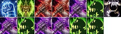 Unholy Death Knight Dps Rotation with Reaping