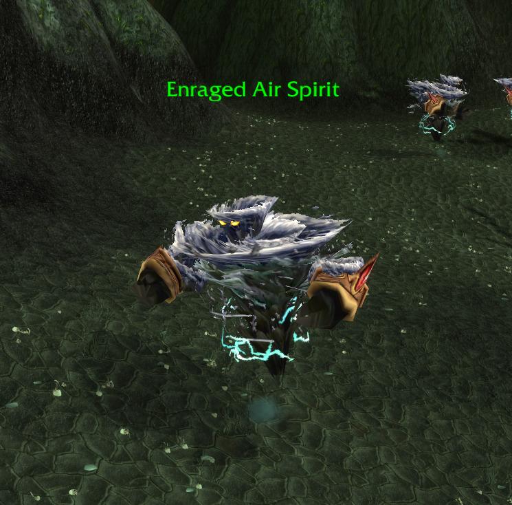 enraged air spirit tbc