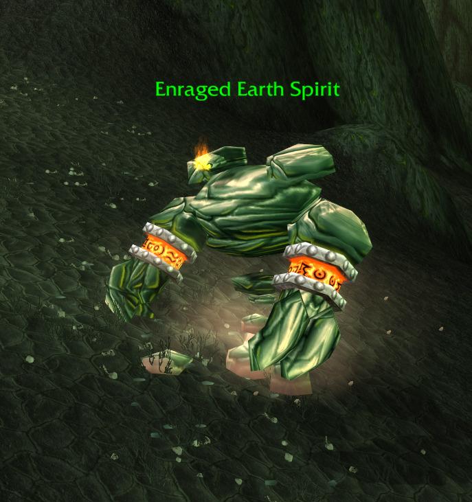 enraged earth spirit