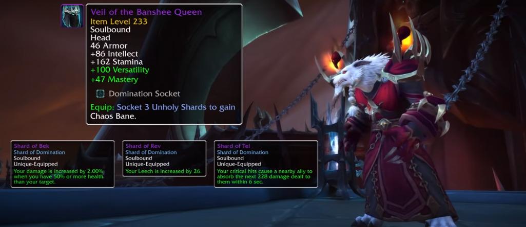 world of warcraft shards of domination