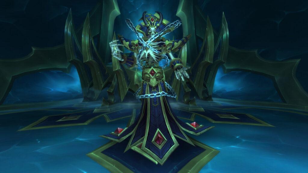 world of warcraft sanctum of domination kelthuzad