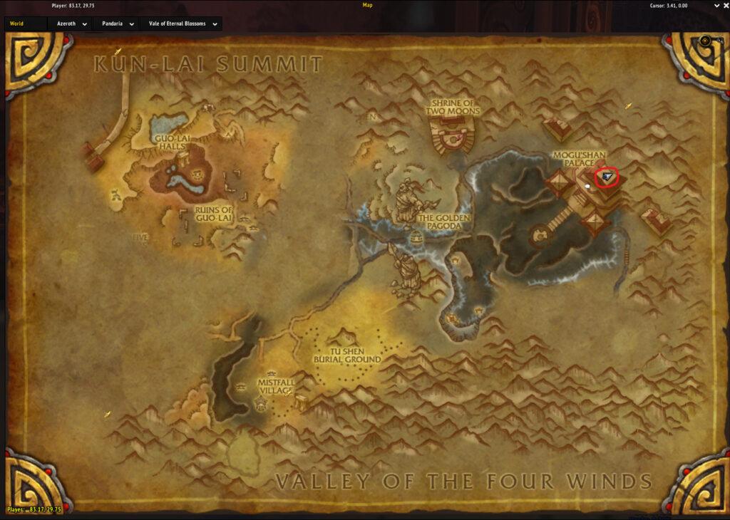 lorewalker cho map